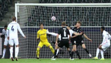 Photo of تعادل ريال مدريد بسيناريو مجنون مع مونشنجلادباخ في دوري الأبطال